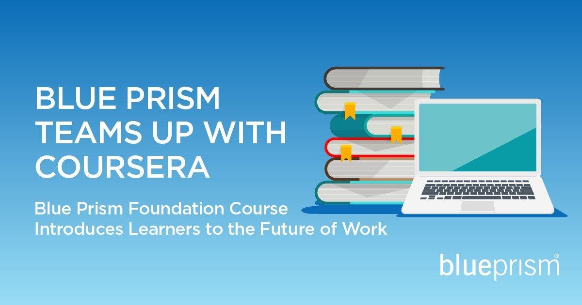 Blue Prism Teams Up with Coursera for RPA and Intelligent Automation Training